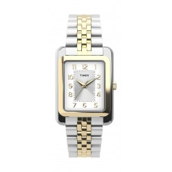 Timex 25mm Casual Ladies Analog Metal Watch - (TW2U14200) - Silver/Gold