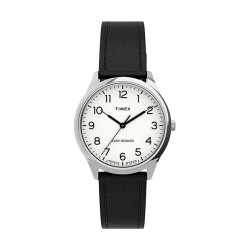 Timex 32mm Casual Ladies Analog Leather Watch (TW2U21700) - Black
