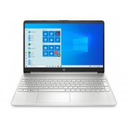 """HP 15S-FQ1018NE Intel Core i3 10th Gen. 4GB RAM 256GB SSD 15.6"""" Laptop - Silver"""