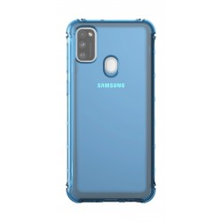 Samsung Galaxy M21 Back Case (15KDALW) - Blue