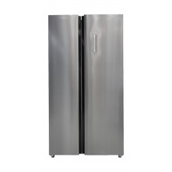 TCL Side by Side Refrigerator 21 CFT (TRF-650WEXPSA) - Stainless Steel
