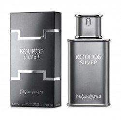 Yves Saint Laurant Kouros Silver For Men 100ml Eau de Toilette