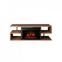 Wansa Upto 55-inch TV Stand with Fireplace Insert (A510-8)