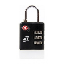 American Tourister Tsa 3 Dial Combination Lock - Black