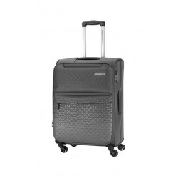 American Tourister Bradford 55CM Soft Luggage (FJ6X08901) - Grey