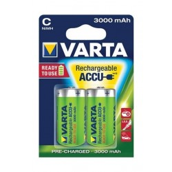 Varta Rechargeable ACCU 2C Nickel-Metal Battery 3000 mAh