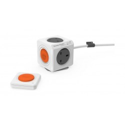 Allocacoc PowerCube Remote Extended + PowerRemote - White
