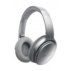 Bose QuietComfort 35 Wireless Over-Ear Noise Cancelling Headphones - Silver