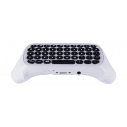 Wireless Mini Xbox One Controller Keyboard Chatpad - White