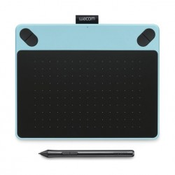 Wacom Intuos Art Pen and Touch Drawing Tablet (CTH-690AK) – Medium, Black