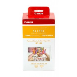 Canon RP-108 High Capacity Color Ink/Paper Set