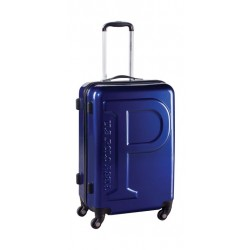 US Polo Hard Case 100% Poly Carbonate Luggage 76cm (PLVLZ7552A) - Blue