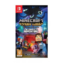 Minecraft Story Mode The Complete Adventure – Nintendo Switch Game
