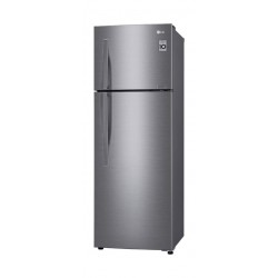 LG 13CFT Top Freezer with Inverter Linear Compressor (GR-C362RLBN) - Platinum Silver 1