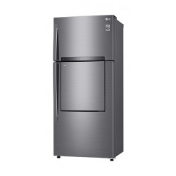 LG 26CFT VCM Top Freezer With Door-In-Door (GN-D732HLHU) - Platinum Silver