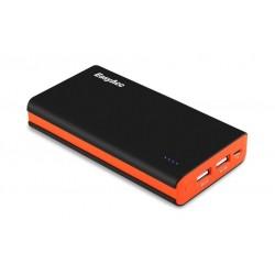 EasyAcc Brilliant 15000 mAh Power Bank - Black / Orange