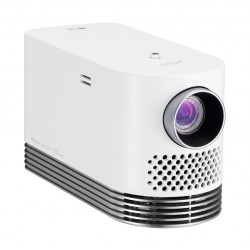 LG FHD Laser Smart Home Theater Projector (HF80JA) - White