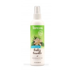 TropiClean Natural Baby Powder Pet Cologne 237ml