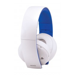 Sony Gold  Wireless Stereo Headset For PlayStation 4 (CECHYA-0083) - White