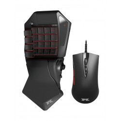 Hori TAC(Tactical Assault Commander) Pro Wired Gaming Keypad And Mouse - Black