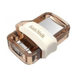 Sandisk M3.0 32GB Ultra Dual Drive - Gold