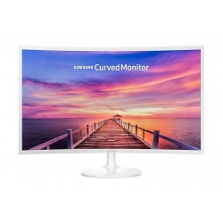 Samsung 32-inch Curved Monitor (LC32F391FWMXUE) - White