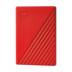 Wetern Digital My Passport 2TB Portable HDD - Red
