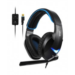 Sades Wand Wired Gaming Headset - Black