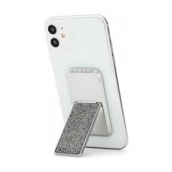 HANDLstick Crystal Smartphone Holder - Silver
