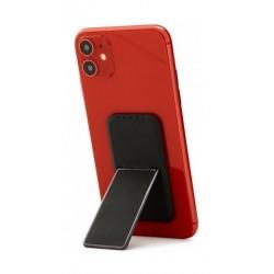 HANDLstick Smooth Leather Smartphone Holder- Black