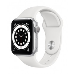 Apple Watch Series 6 GPS + Cellular 44mm Aluminum Case Smart Watch (MG2C3AE/A) - Silver