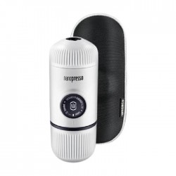 WACACO Nanopresso Elements Portable Coffee Machine + Adapter - White