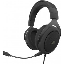 Corsair HS60 Pro 7.1 Virtual Surround Sound Wired Gaming Headset - Carbon