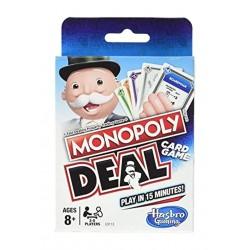 Hasbro  Monopoly Deal Mena