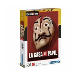 Clementoni Ap Netflx Casa Papl Masks 500Pcs
