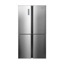 Hisense 4 Door Refrigerator 28.5CFT  (RQ806N4ACU) - Silver