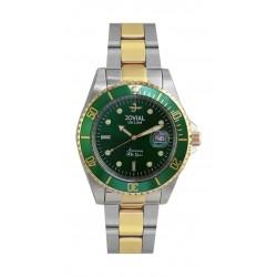 Jovial 41mm Analog Gent's Metal Watch - (6700-GTMQ-09)