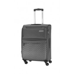 American Tourister Bradford 68CM Soft Luggage (FJ6X08902) -Grey