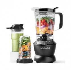 Nutribullet 1000W Full Size Blender + Combo 9-Piece - (NBC-0910B)