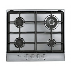 Whirlpool 60cm 4-Burners Built-in Gas Hob (AKR 353/IX) – Silver