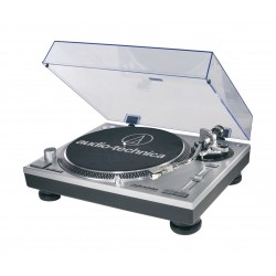 Audio-Technica AT-LP120USBCBK Professional DJ Direct-Drive Turntable - Silver