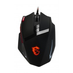 MSI Interceptor DS200 Laser Wired Gaming Mouse - Black