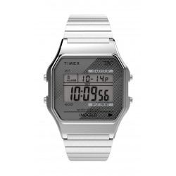 Timex T80 Expansion Unisex Digital Metal Watch - (TW2R79100)