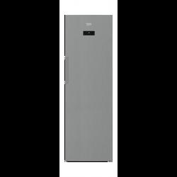 Beko 12CFT Upright Freezer (RFNE350E23X) - Silver