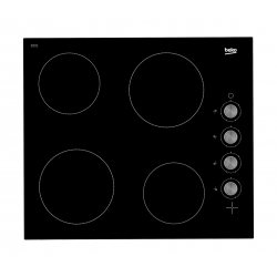 Beko 60cm Ceramic Burner Built In Electric Hob (HIC 64100)