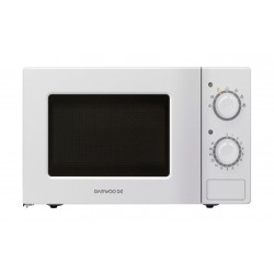 Daewoo 20L Microwave Oven (KOR-6L77) - White