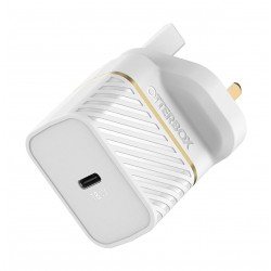 OtterBox UK Wall Charger 18W - 1X USB-C 18W USB-PD - White