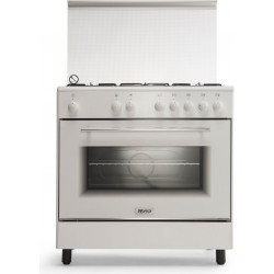 Wansa 80x50 5-Burner Floor Standing Gas Cooker (WE8050W)