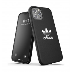 Adidas Originals iPhone 12 Pro Shockproof Protective Back Case - Black White