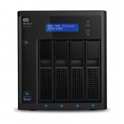 Western Digital My Cloud PR4100 16TB 4-Bay NAS And Cloud Storage (WDBNFA0160NBK)